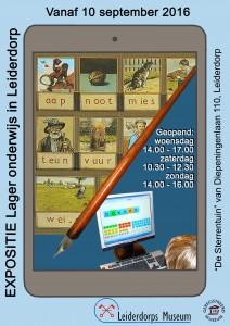 Poster Lager onderwijs in Leiderdorp (1)